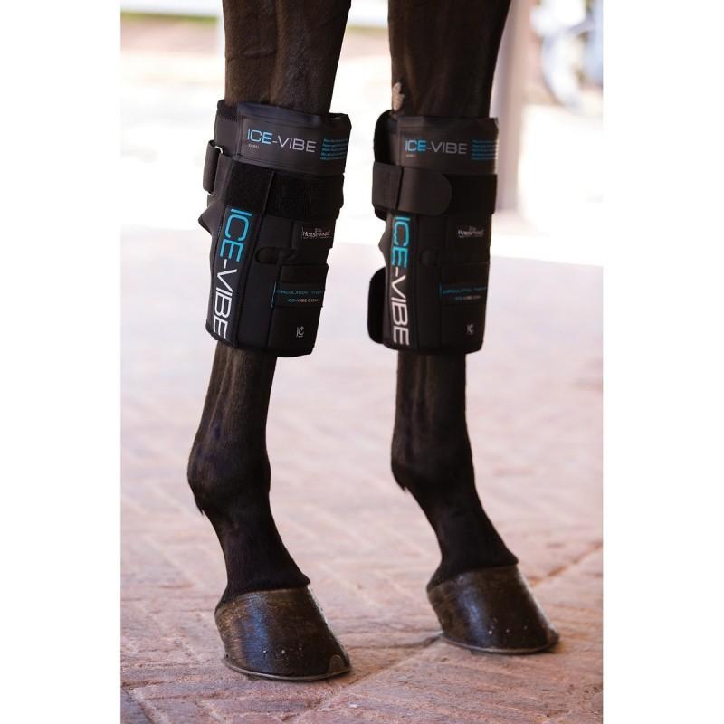 Protector Horseware Ice-Vibe(set completo) Rodilla