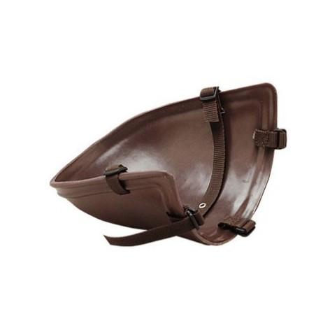 Babero plástico marrón