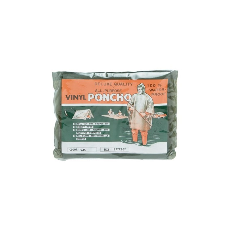 Poncho PVC Verde