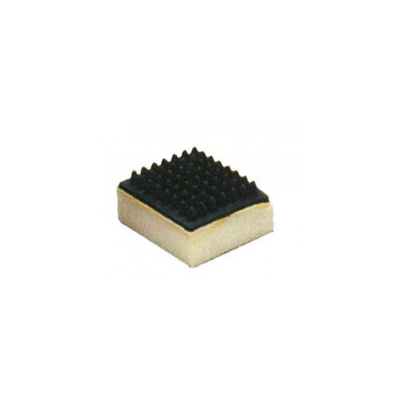 Almohaza goma con esponja