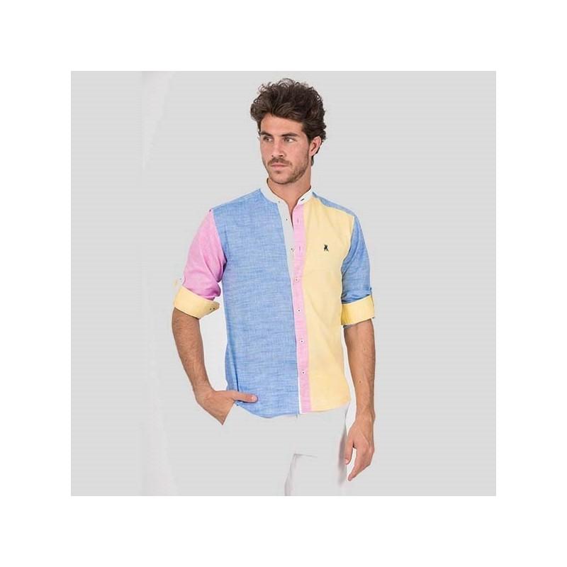 Camisa Hombre C/B Azucar Semientallada