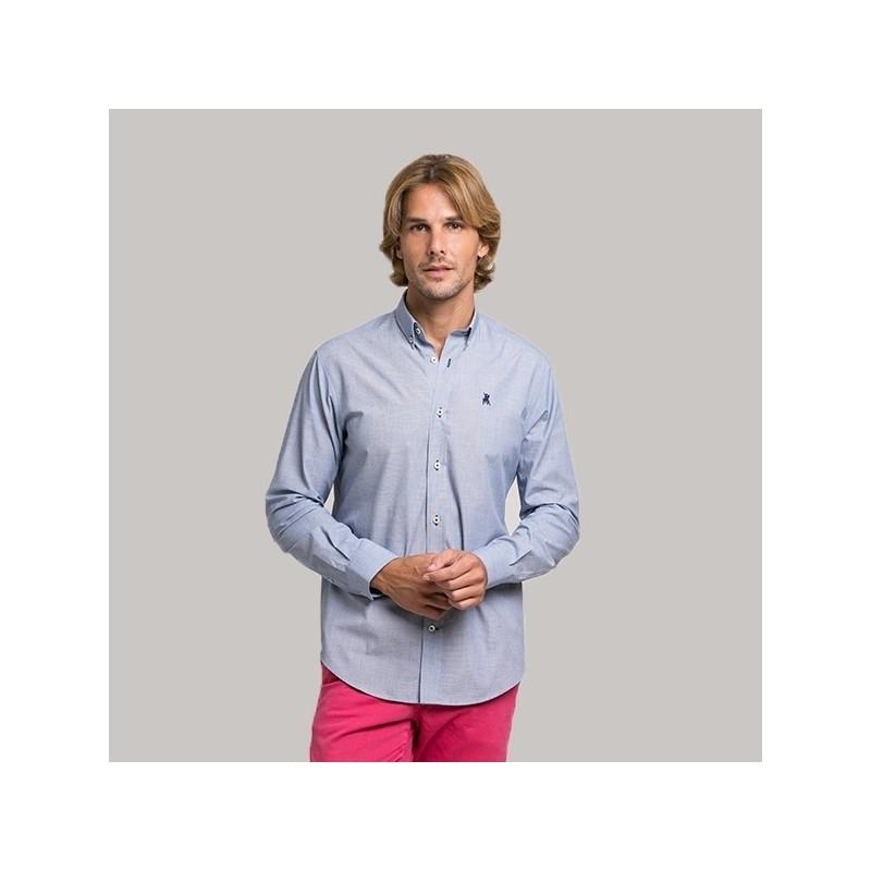 Camisa hombre Celeste, La Jaca