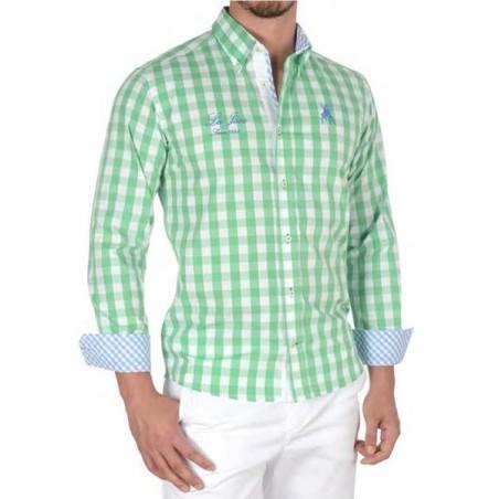 Camisa Trópico semientallada La Jaca