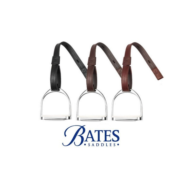 Acion Estribo Bates Cuero Sin Hebilla