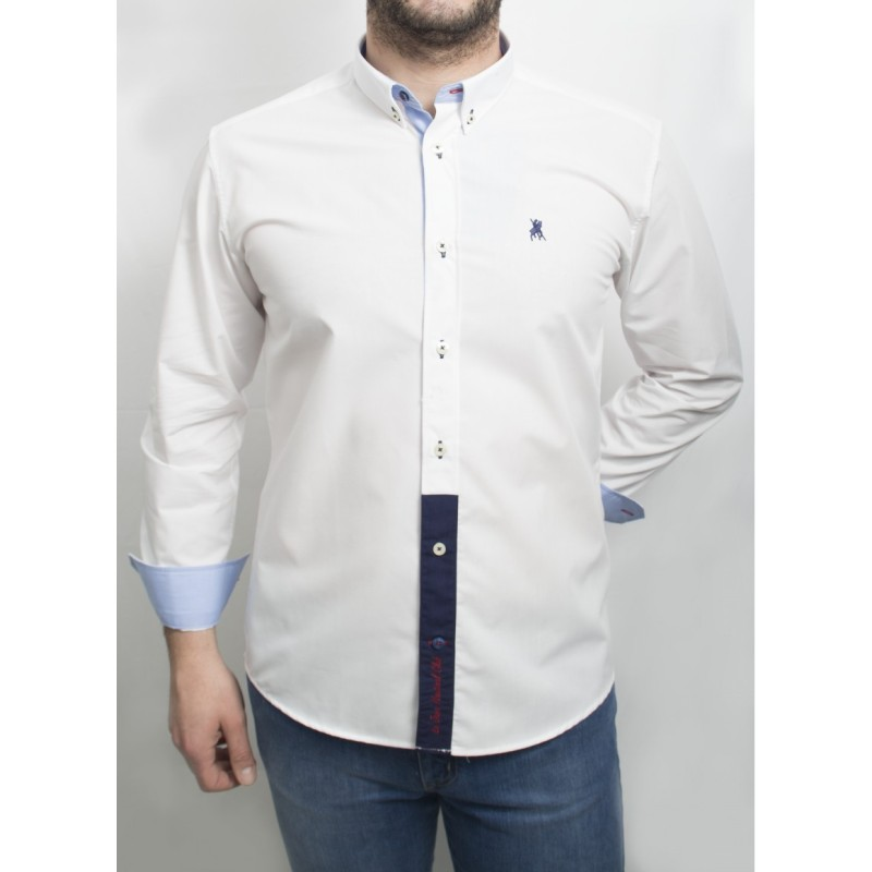 Camisa Cro. C/B Damasco Semi.