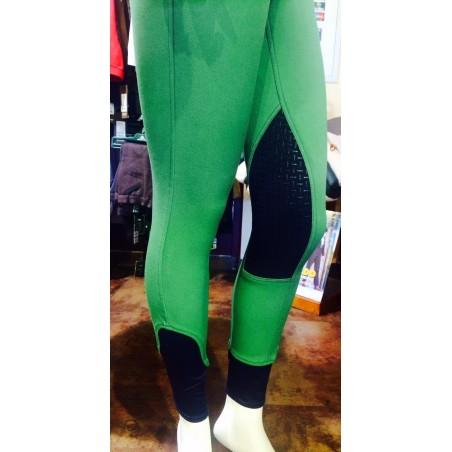 Pantalones de montar Zohra Grip verde Easy rider