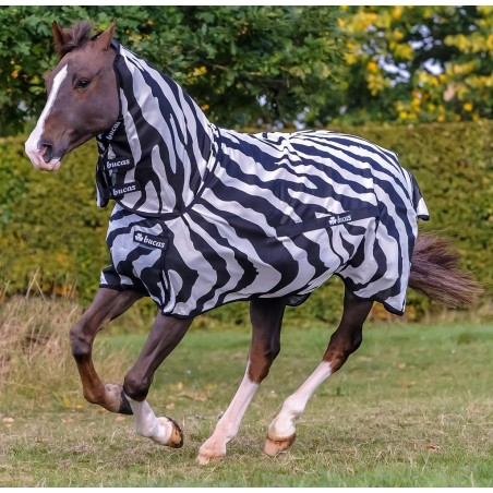 Manta Bucas Zebra Buzz-off con cuello